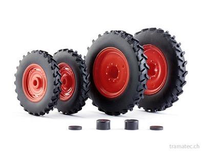 Wiking Rädersatz Pflegebereifung für Claas Arion Baureihe 400
