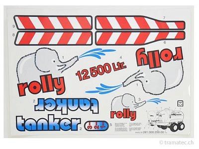 Rolly Toys Ersatzteil Aufkleber für rollyTanker