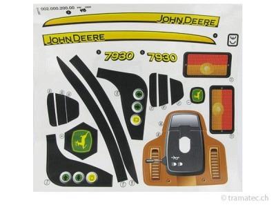 Rolly Toys Ersatzteil Aufkleber für John Deere 7930