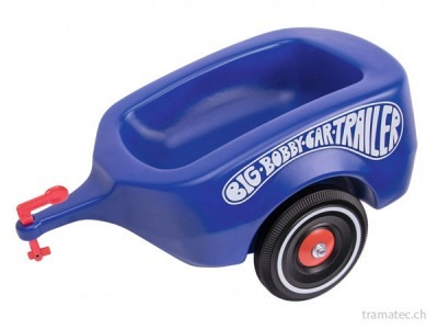 BIG Bobby-Car-Trailer Royalblau