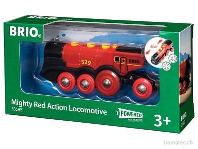 BRIO Rote Lola Batterielok