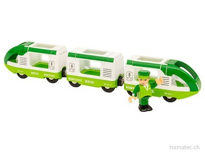 BRIO Reisezug grün