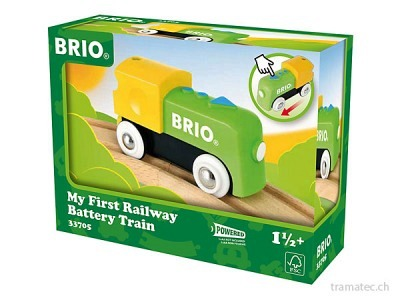 BRIO Batterielok First Railway