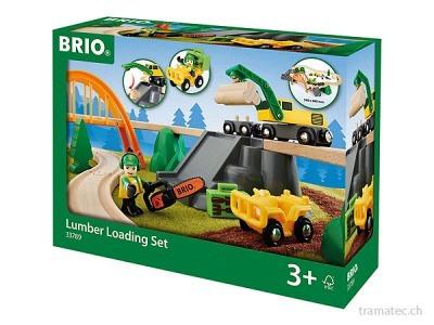 BRIO Bahn Waldarbeiter-Set Brio