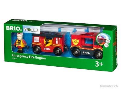 BRIO Feuerwehr Leiterfahrzeug