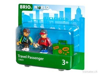 BRIO Bahn Reisende mit Koffer