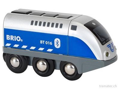 BRIO Batterielok Blauer Oskar