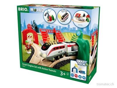 BRIO Smart Tech Reisezug-Set