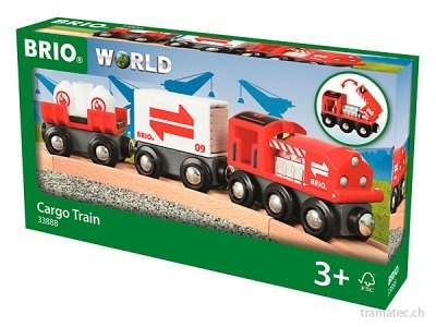 BRIO Grosser Güterzug