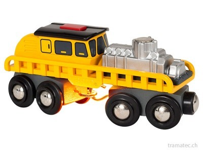 BRIO Schienenreparatur-Fahrzeug