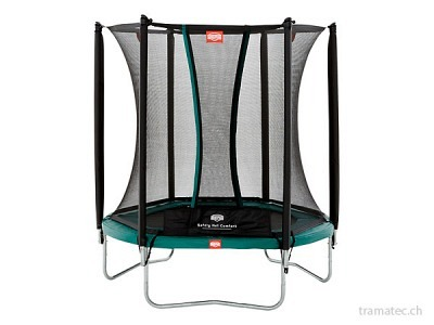BERG Trampolin Talent Green 180 + Sicherheitsnetz Comfort