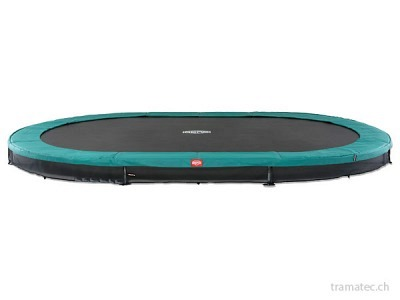 BERG Trampolin Grand Favorit InGround 520 Green