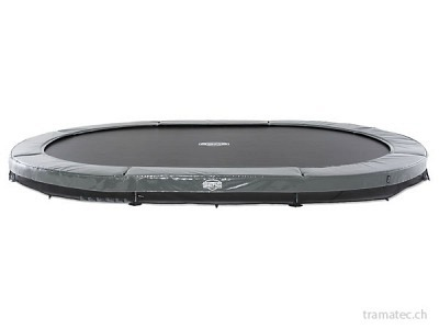 BERG Trampolin Grand Elite InGround 520 Grey