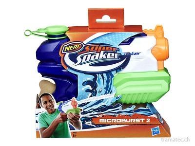 Hasbro Nerf Wasserpistole Super Soaker Microburst II