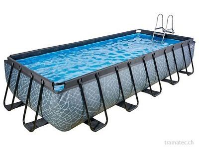 EXIT Schwimmbad 540 x 250 x 100 m (Stein)