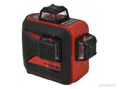FUTECH 3D-Kreuzlaser MC3D Compact Rot