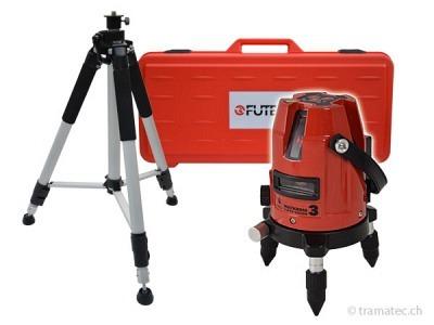 FUTECH Kreuzlinienlaser MC3 SV Rot Case Set