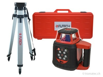 FUTECH Rotationslaser Gyro Rot Case Set