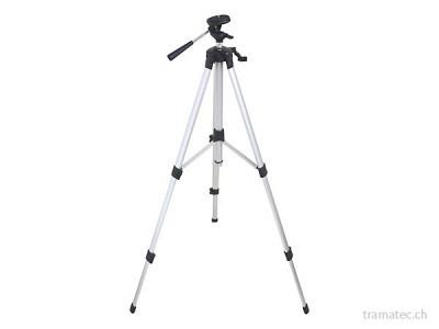 """FUTECH Stativ Light Duty 150 cm - Drehbar Stativkopf - 1/4"""""""