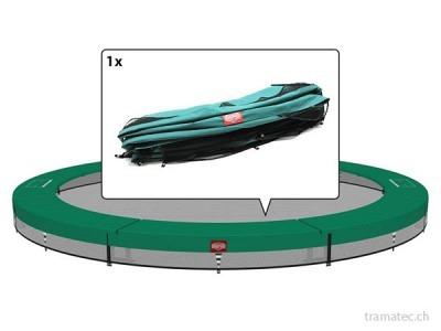 BERG Trampolin Ersatzteil Schutzrand InGround Champion 270, grün