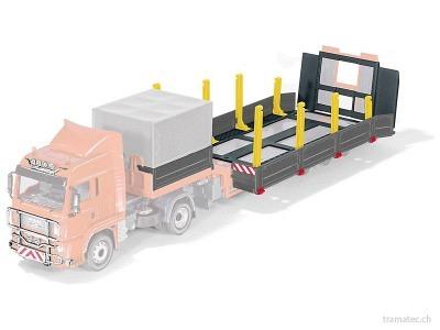 SIKU Control 6714 Tieflader und Zugmaschine