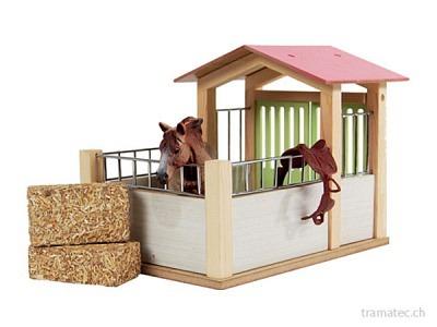 Kids Globe Pferdestall klein 1:24