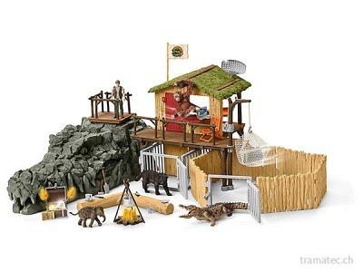 Schleich Dschungel Forschungsstation Croco - 42350