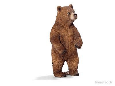 Schleich Grizzlybärin, stehend