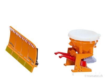 SIKU 2058 Salzstreuer mit Räumschild