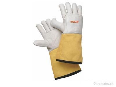 STIHL Schnittschutz Arbeitshandschuhe mit Schnittschutzstulpe