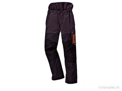 STIHL-Waldarbeits-Bundhose ADVANCE grün/orange