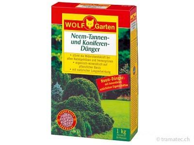 WOLF P-KT 10 Neem-Tannen- und Koniferen-Dünger
