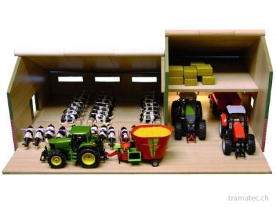 Kids Globe Stall mit Gerätehalle