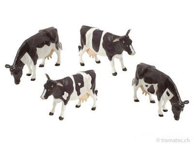 Britains Schwarzbunte Rinder