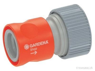 GARDENA SB-Profi-System-Übergangsstück mit Wasserstop