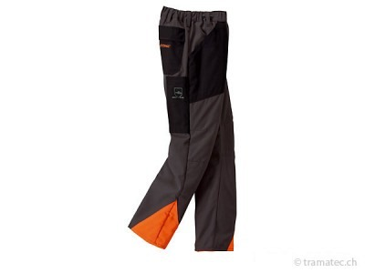 STIHL-Waldarbeits-Bundhose ECONOMY PLUS anthrazit/orange