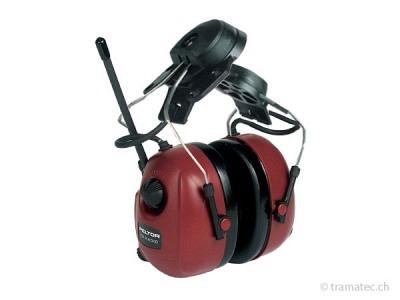 Peltor Gehörschutz mit Radio für Helmbefestigung
