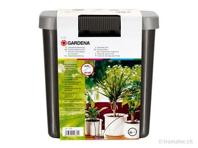 GARDENA city gardening Urlaubsbewässerung, mit 9 L Vorratsbehälter