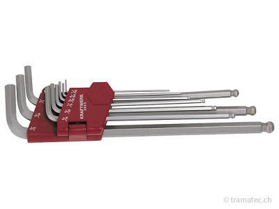 KRAFTWERK 10-t. Kugelkopf-Inbus-Satz 1.5-10 mm