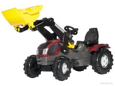 Rolly Toys rollyFarmtrac Valtra T163, rollyTrac Lader