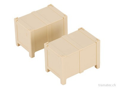 Bruder Ersatzteil 2 Kisten mit Deckel