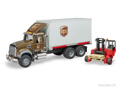 Bruder Mack Granite UPS Logistik-LKW
