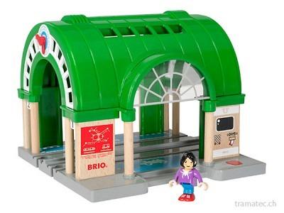 BRIO Hauptbahnhof mit Ticket-