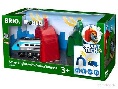 BRIO Smart Tech Zug mit Action-