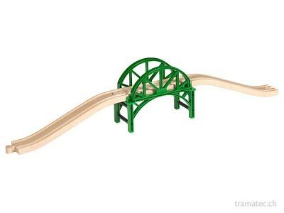 BRIO Stapelbrücke mit Rampen