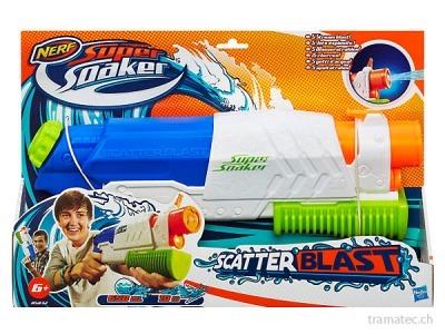 Hasbro Nerf Wasserpistole Super Soaker Scatter Blast