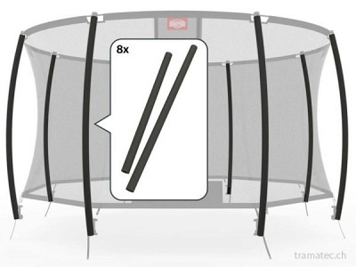 BERG Trampolin Ersatzteil Schaumstoffhüllen für Sicherheitsnetz Standard