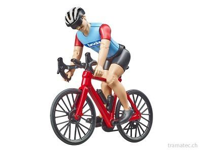 Bruder Rennrad mit Radfahrer